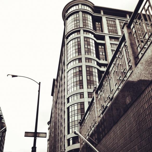 Harrison Street. Downtown Chicago
