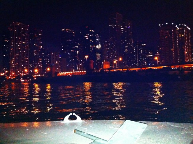 Chicago River Nighttime IV