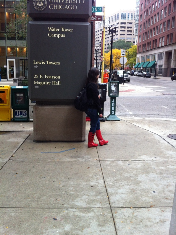 Red Boots I