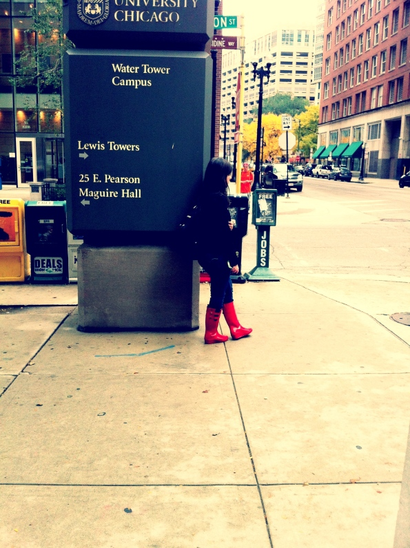 Red Boots II