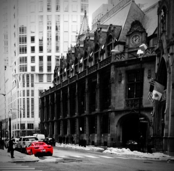 Red Ferrari V