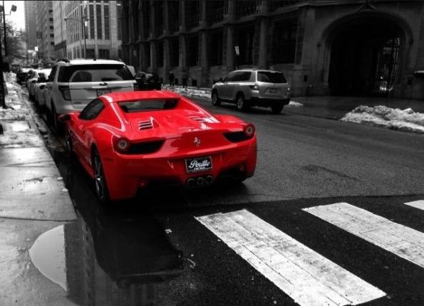 Red Ferrari VI