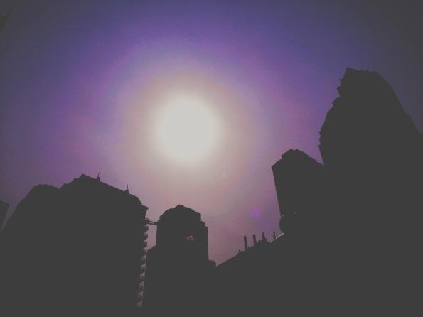 Sun + Purp Sky II