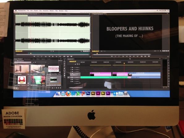 Making of ... (Bloopers and Hijinks)